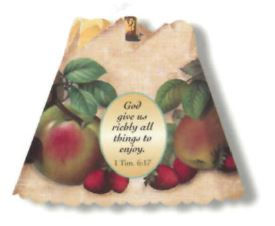 God Gives Us (Harvest) Spin Shade Night Light